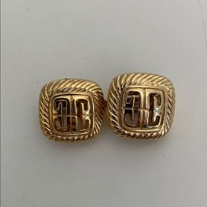 Auth Vintage Givenchy Earrings